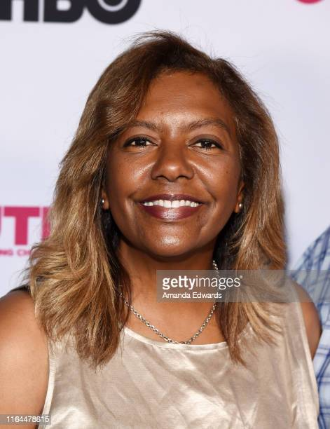 Hollywood in Pixels Founder and President Bettina Sherick arrives at the 2019 Outfest Los Angeles LGBTQ Film Festival Screening of Gay Chrous Deep...