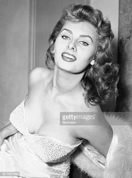 Hollywood is Her Goal Rome Italy You're looking at the latest beauty whose star appears to be rising in the Italian film colony Her name is Sophia...