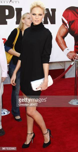 Hollywood Kate Nauta attends the World Premiere of The Game Plan held at the El Capitan Theater in Hollywood California United States Christian...