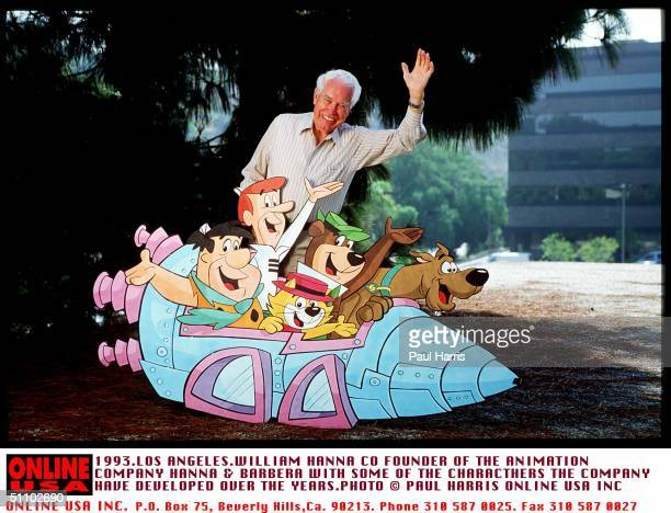 Hollywood Los AngelesWilliam Hanna Co Founder Of The Animation Company Hanna And Barbera