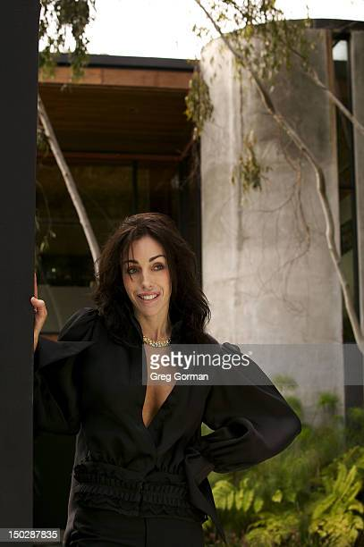 Hollywood madame Heidi Fleiss poses for Maxim Magazine on May 1 2006 in Los Angeles California