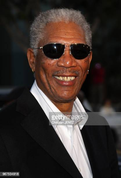 Hollywood Morgan Freeman attends the World Premiere of 'The Bucket List' held at the ArcLight Theater in Hollywood California United States