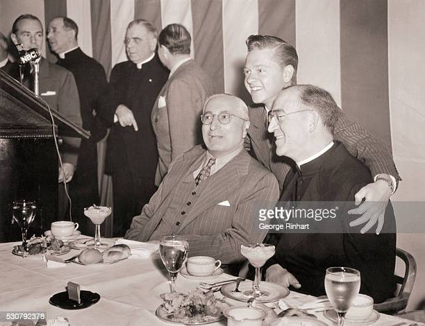 Hollywood Plays Tribute to Father Flanagan of Boys Town Hollywood Los Angeles California Threehundred civic church and motion picture leaders...