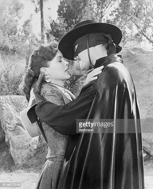 Pleasant Duty Guy Williams hero of the Walt Disney Zorro television show finally gets to kiss a girl before the cameras in the new 195859 series The...