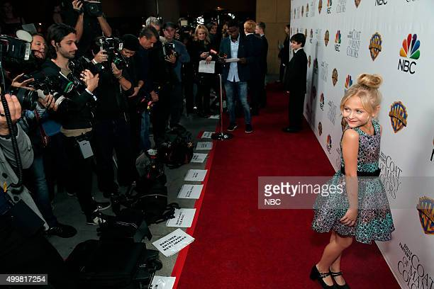 S COAT OF MANY COLORS 'Hollywood Premiere' Pictured Alyvia Alyn Lind