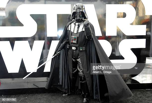Hollywood Prepares For The Premiere Of Walt Disney Pictures And Lucasfilm's Star Wars The Force Awakens Darth Vader on the 2nd Day of Target's Share...