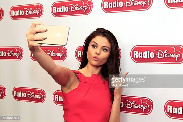 DISNEY Hollywood Records' hit recording artist Selena Gomez visited Radio Disney Studios to discuss her new album 'Revival' Her interview with Radio...