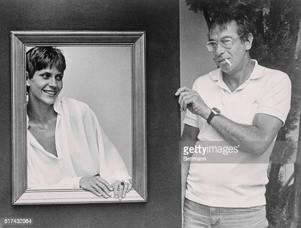 Roger Vadim the movie director who launched the careers of Brigitte Bardot Catherine Deneuve and Jane Fonda uses a picture frame setting to present...