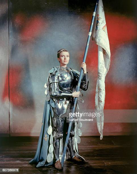 Hollywood screen goddess Jean Seberg stars in Saint Joan directed by Otto Preminger in 1957