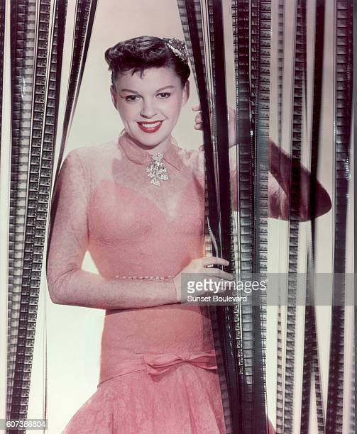 "Hollywood screen goddess, Judy Garland stars in ""A Star is Born"" directed by George Cukor in 1954."