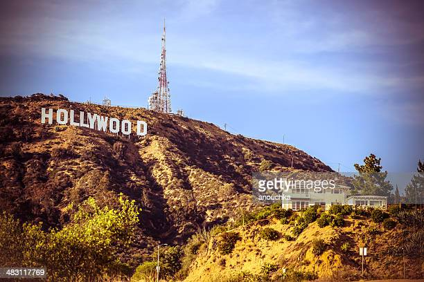 hollywood sign, california, usa - hollywood california stock pictures, royalty-free photos & images