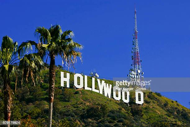 Hollywood Sign Griffith Park Hollywood Hills Los Angeles CA