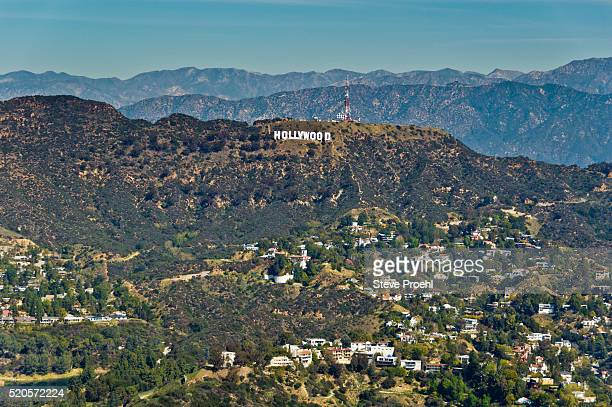 hollywood sign - hollywood kalifornien bildbanksfoton och bilder