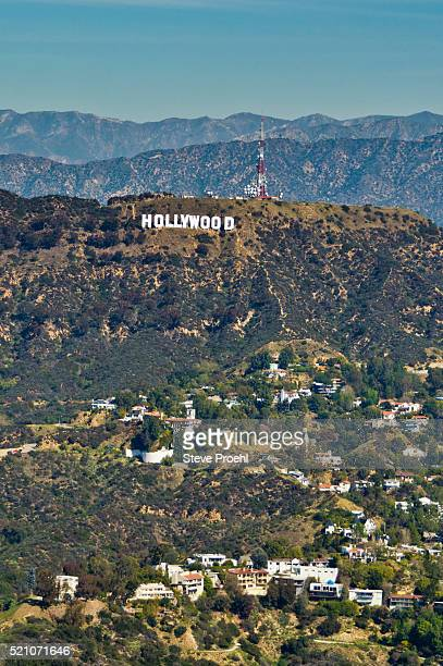 hollywood sign - hollywood sign stock pictures, royalty-free photos & images