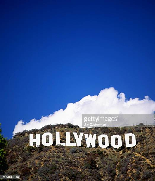 hollywood sign - hollywood hills stock pictures, royalty-free photos & images