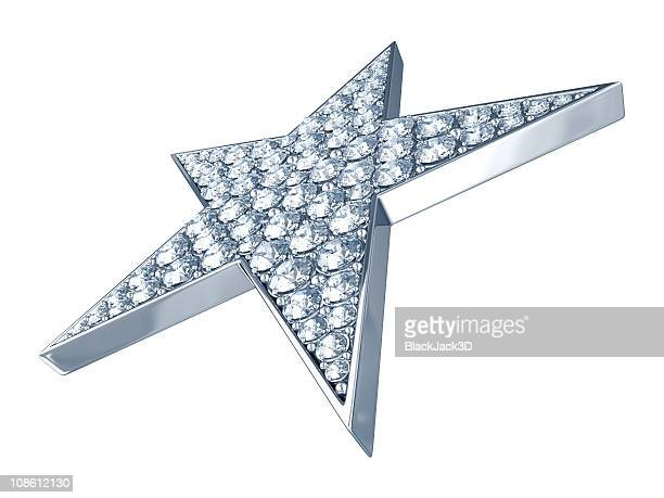 Hollywood Star with Diamonds (in Perspective)