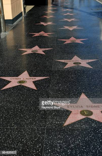 Hollywood Stars Walk of Fame in Los Angeles California on September 11 2017