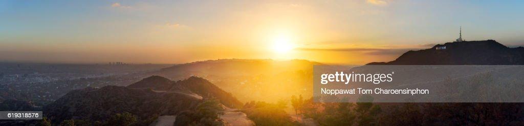 Hollywood Sunset : Stock Photo