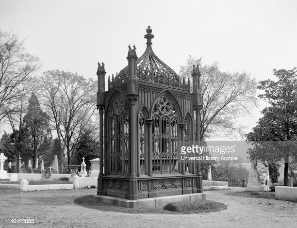 Hollywood Tomb of US President James Monroe Richmond Virginia USA Detroit Publishing Company 1905