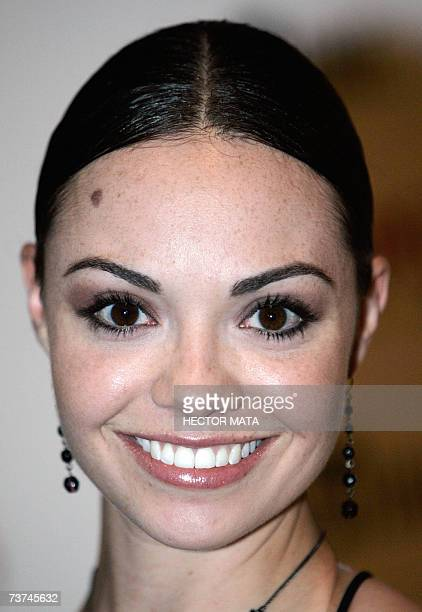 Actress Annemarie Pazmino arrives for the screening of the movie Revamped in Hollywood CA 29 March 2007 AFP PHOTO / HECTOR MATA