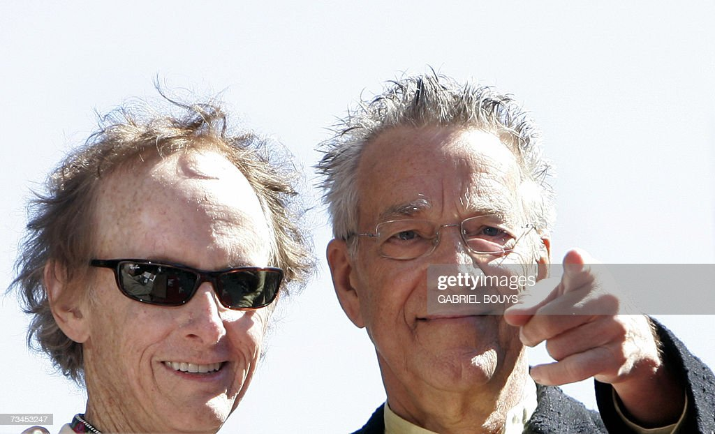 Members of the Rock band The Doors Robby Kreiger (L) and Ray Manzarek  sc 1 st  Getty Images & The Doors Receive A Star On The Hollywood Walk Of Fame Photos and ...