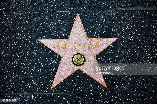 Hollywood Walk Of Fame Star Duran Duran