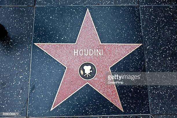 Hollywood Walk Of Fame Star Houdini