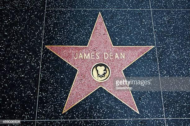 paseo de la fama de hollywood star james dean - james dean fotografías e imágenes de stock