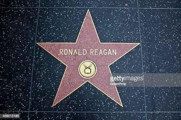 Hollywood Walk Of Fame Star Ronald Reagan
