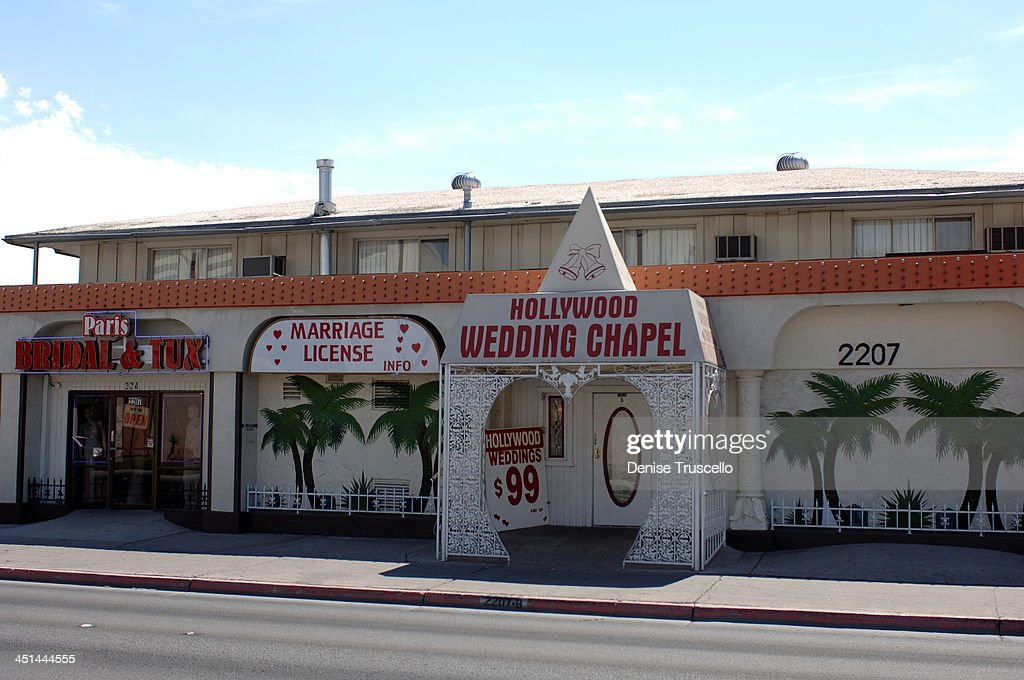 Hollywood Wedding Chapel During Las Vegas Chapels At Boulevard In