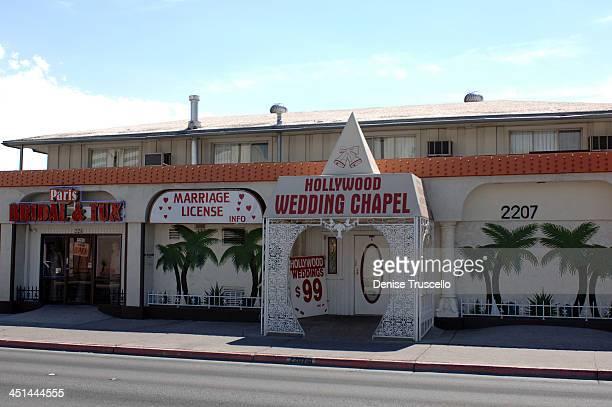Hollywood Wedding Chapel During Las Vegas Chapels At Boulevard In Nevada