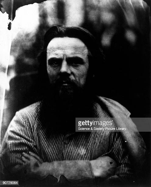 Holman Hunt full face' May 1864 Photographic portrait of William Holman Hunt the Pre Raphaelite painter by Julia Margaret Cameron Cameron's...