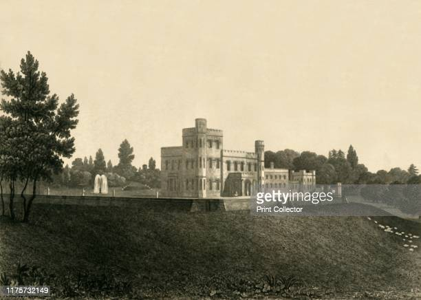 Holmbush' 1835 Grade II listed Georgian country house in Hellingly East Sussex home of Thomas Broadwood Engraved by CJ Smith after a drawing by...