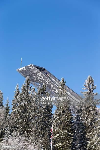 Holmenkollen ski jump hill