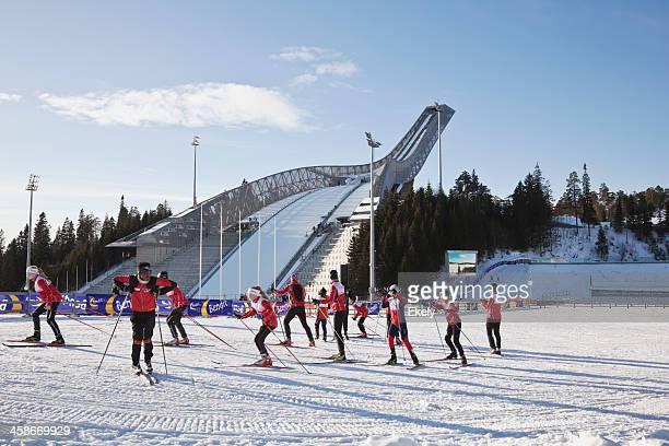 Holmenkollen ski jump.