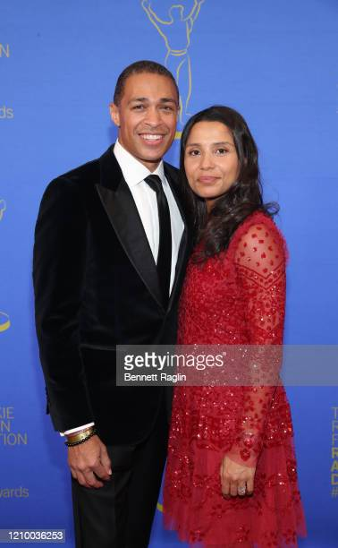 J Holmes and Marilee Holmes attend Jackie Robinson Foundation Robie Awards Dinner at Marriot Marquis on March 02 2020 in New York City