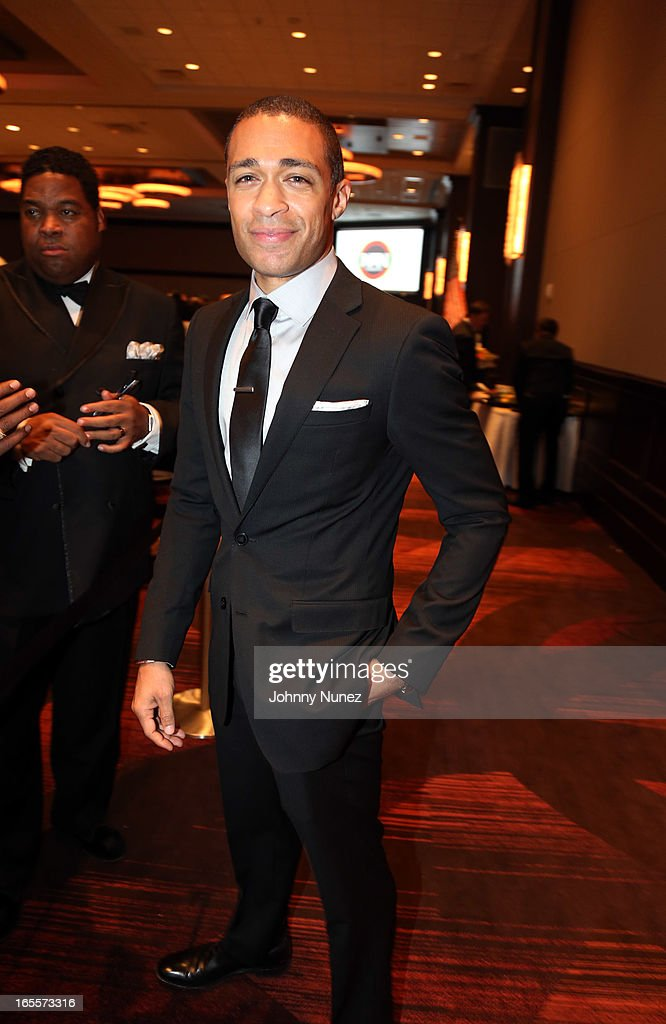 TJ Holmes attends the 2013 Keepers Of The Dream Awards at the Sheraton New York Hotel & Towers on April 4, 2013, in New York City.
