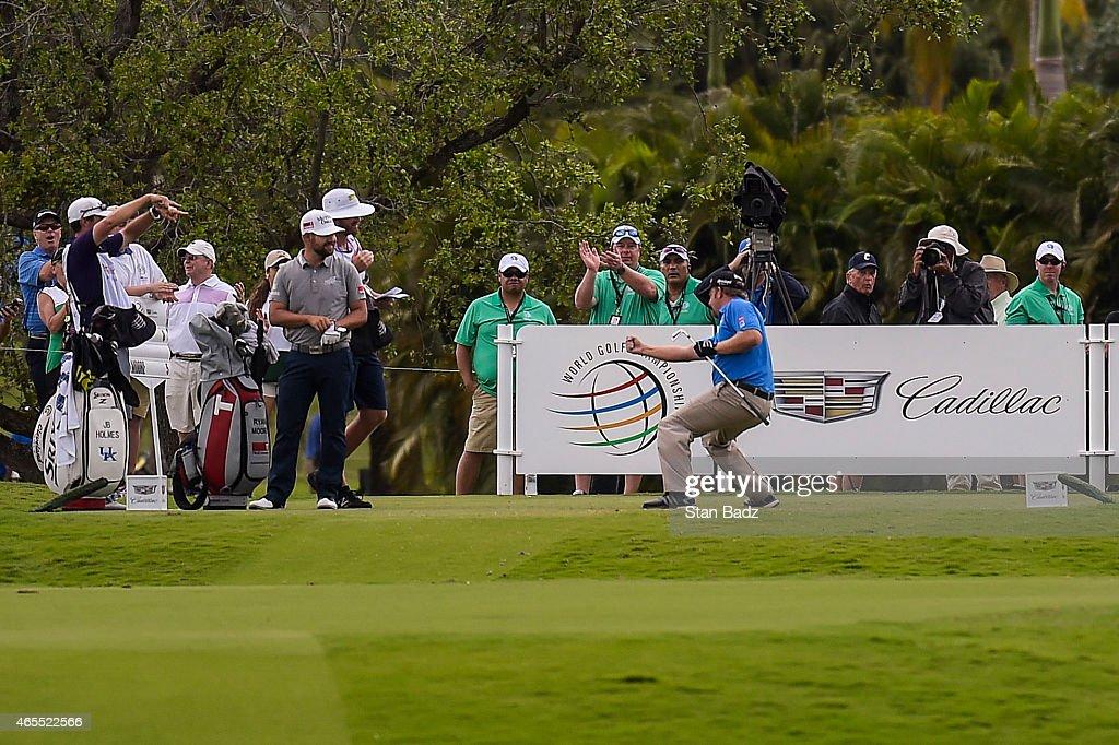 World Golf Championships-Cadillac Championship - Round Three : News Photo
