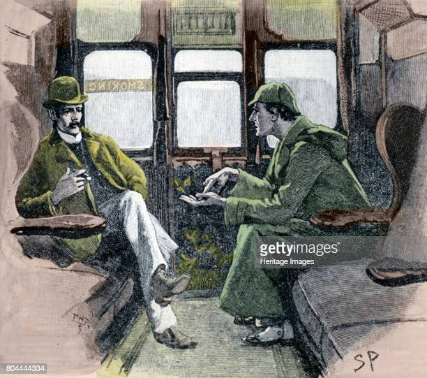 Holmes gave me a sketch of the Events' 1901 Sherlock Holmes and Dr Watson on a train to Devon to investigate a murder and the disappearance of a...