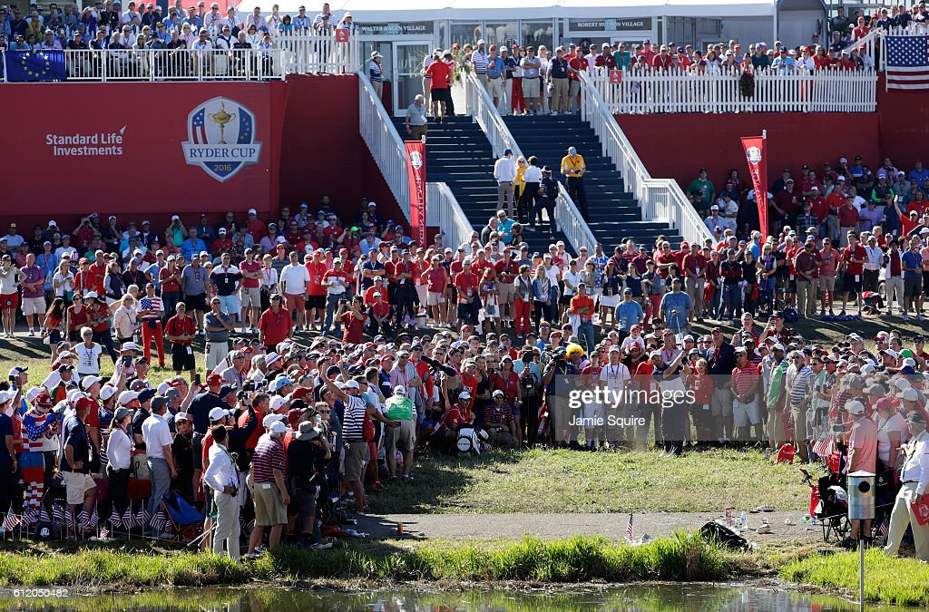 2016 Ryder Cup - Singles Matches : News Photo