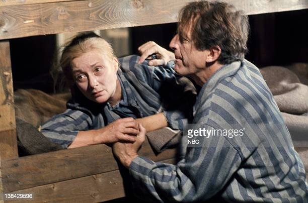 Holocaust Aired Pictured Rosemary Harris as Berta Palitz Weiss Fritz Weaver as Dr Josef Weiss