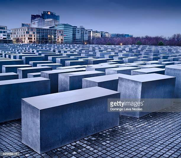 Holocaust Memorial, Berlin, Germany Designed by Peter Eisenmann.