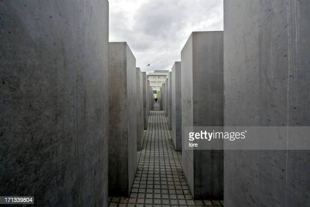 holocaust-mahnmal, berlin - holocaust stock pictures, royalty-free photos & images