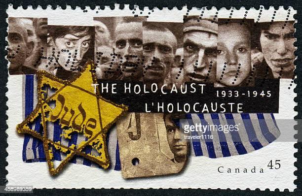 holocaust stamp - holocaust stockfoto's en -beelden
