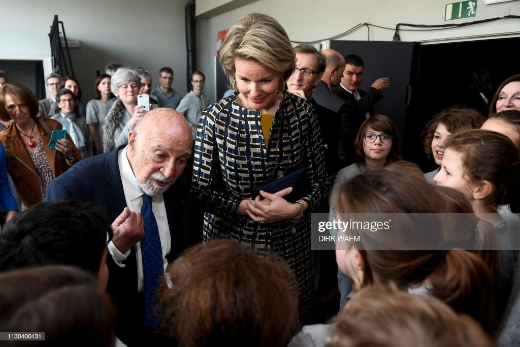 BELGIUM-ROYALS-OPERA-WWII : News Photo