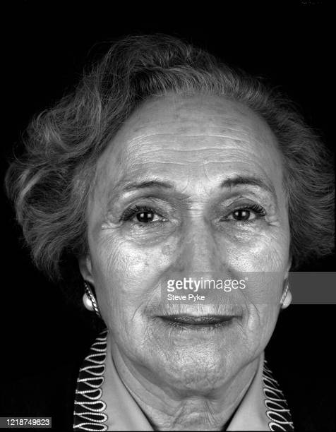 Holocaust survivor, Freda Wineman, London, 1995. Wineman was a prisoner at the Bergen-Belsen Nazi concentration camp in Germany during World War II.
