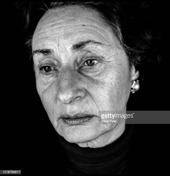 Holocaust survivor Susan Pollack London 1995 Pollack was a prisoner at the BergenBelsen Nazi concentration camp in Germany during World War II