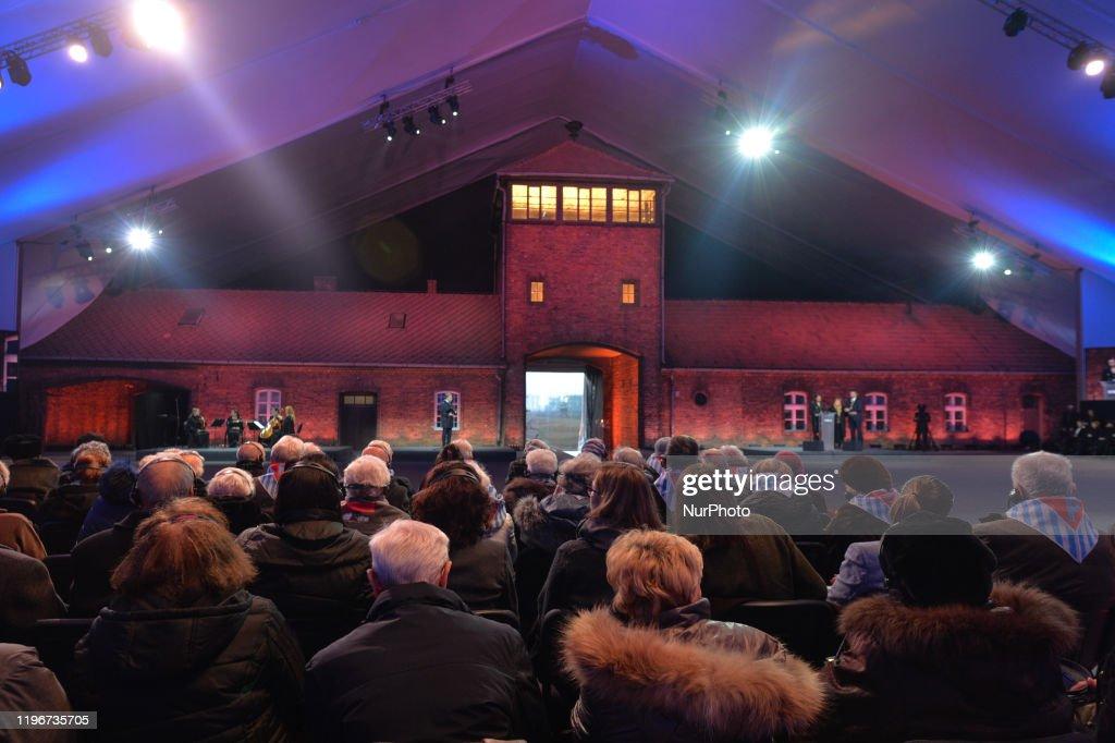 75th Anniversary Of Auschwitz Liberation : ニュース写真
