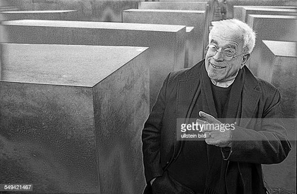 HolocaustMahnmal Fertigstellung Architekt Peter Eisenman