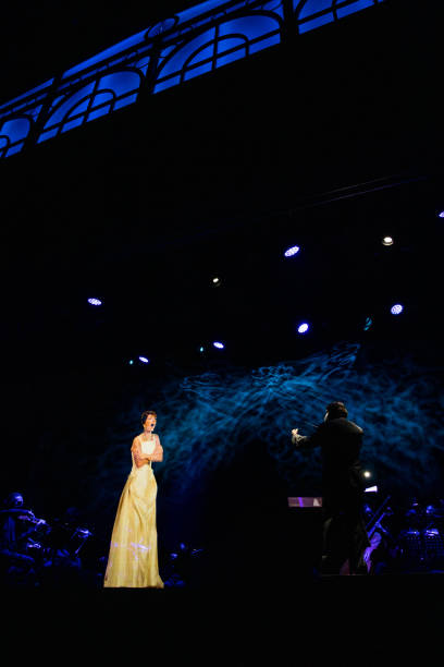 ESP: Maria Callas Hologram Concert In Madrid